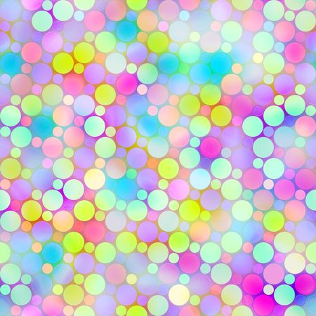 seamless texture of foam like dots in pastel colors