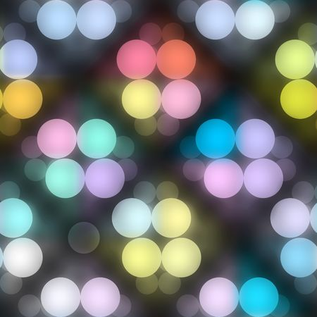 seamless texture of glowing colorful light dots photo