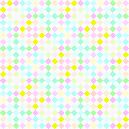 seamless texture with little checkered blocks in soft colors Stock Photo - 5866095