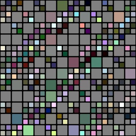 seamless texture of cubes in grey and some bright colors Stock Photo - 5920040