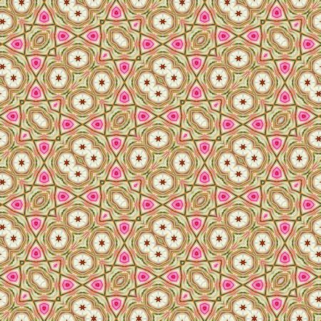 abstract seamless cloth texture in brown, beige and pink
