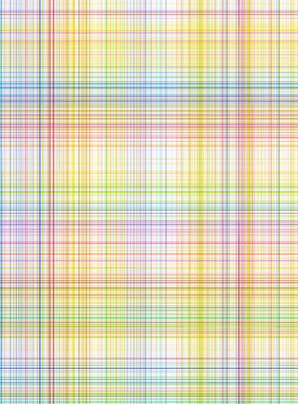 seamless texture of detailled woven tartan in bright colors Stock Photo