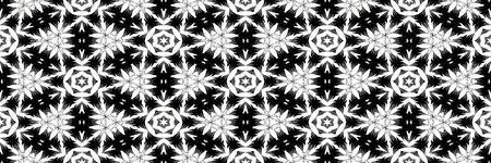 seamless texture of holiday winter shapes in black and white Stock Photo - 6868567