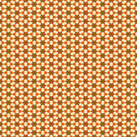 seamless texture of repeating little red flowers and ornaments Stock Photo - 6868566