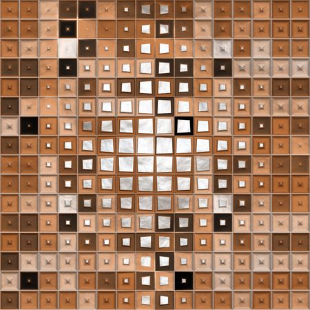 seamless texture of fantasy scape of cubes Stock Photo