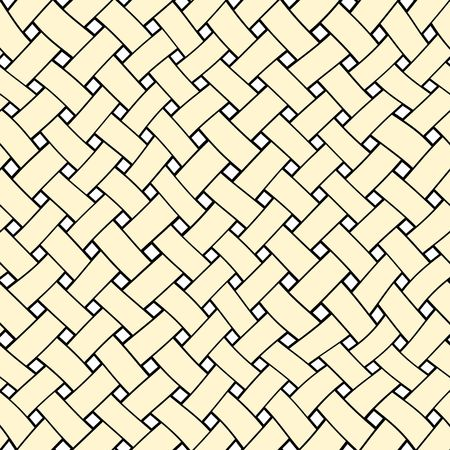 creme: seamless texture of playful creme lines intertwined Stock Photo