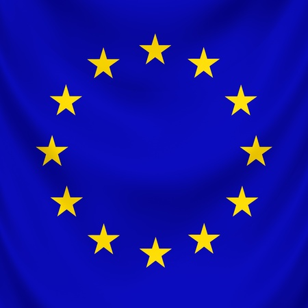 Symbol of united countries in Europe, EU photo