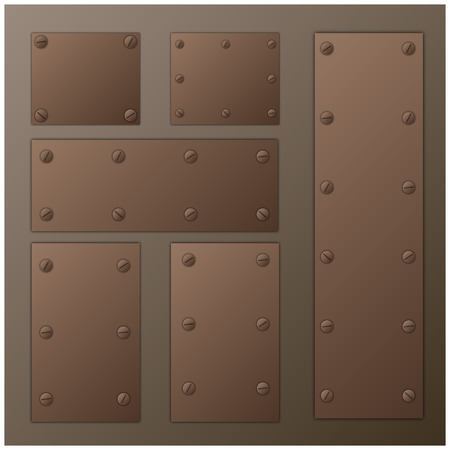 industrial sheet iron: plate with screw set
