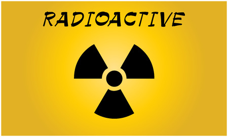 contamination: Radioactive contamination symbol - Vector Illustration Illustration