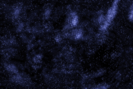 starfield: Stars and galaxy space starry sky night background. Universe filled with stars illustration.