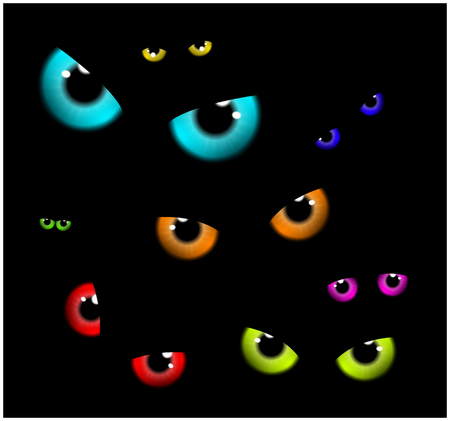 38012 Scary Eyes Stock Illustrations Cliparts And Royalty Free