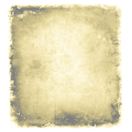 yellowed: Grunge, vintage, old paper background. illustration of aged, worn and stained paper scrap texture. For your design.