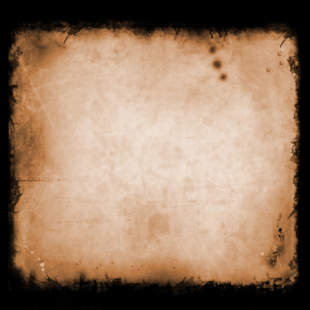 Grunge, vintage, old paper background. illustration of aged, worn and stained paper scrap texture. For your design. Stok Fotoğraf - 48303751