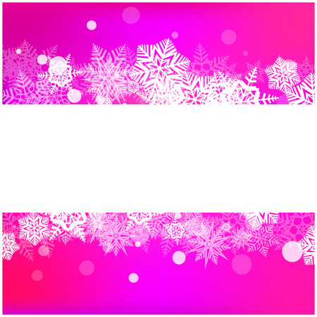 snowfall: Christmas vector snowflake background for card. Snowfall illustration wallpaper. Illustration