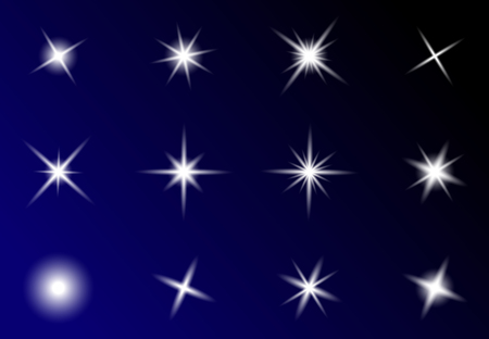 pellucid: transparent star vector symbol icon design. Beautiful illustration of glowing light effect stars bursts with sparkles on transparent background Illustration