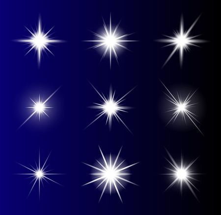 pellucid: transparent star vector symbol icon design. Beautiful illustration of glowing light effect stars bursts with sparkles on transparent background for christmas card