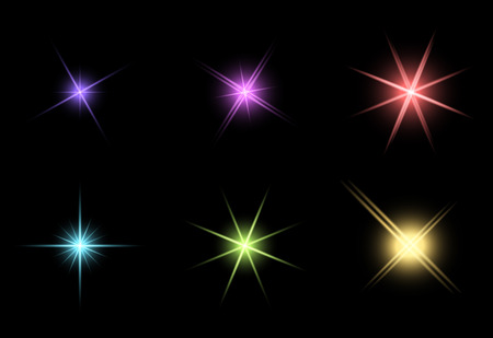 limpid: transparent star vector symbol icon design. Beautiful illustration of glowing light effect stars bursts with sparkles on transparent background for christmas card