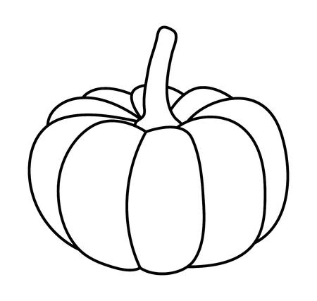 halloween  pumpkin vector symbol icon design. Beautiful illustration isolated on white background Illusztráció