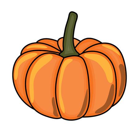 halloween  pumpkin vector symbol icon design. Beautiful illustration isolated on white background Иллюстрация
