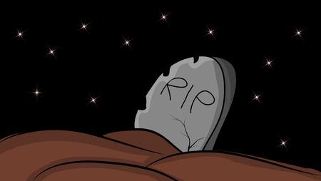 halloween creepy scary grave, rip vector symbol icon design. Beautiful illustration isolated on white background. 일러스트