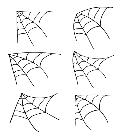 spiderweb: halloween spiderweb vector symbol icon design. Beautiful illustration isolated on white background