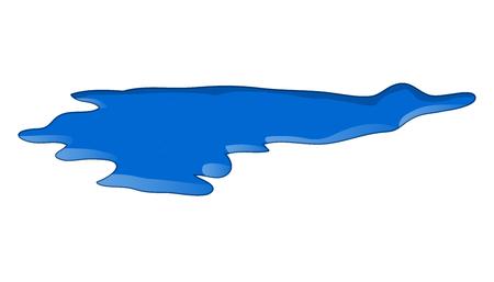 water puddle vector symbol icon design. 일러스트