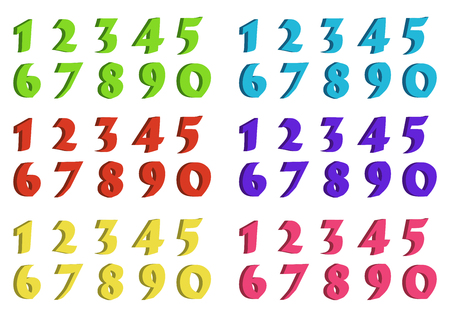 numbers icon: numbers vector symbol icon design. Beautiful illustration isolated on white background