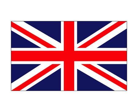 uk flag, england symbol vector symbol icon design. Beautiful illustration isolated on white background