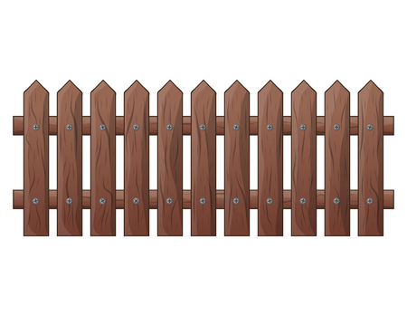 Wooden Fence isolated vector symbol icon design. Beautiful illustration isolated on white background