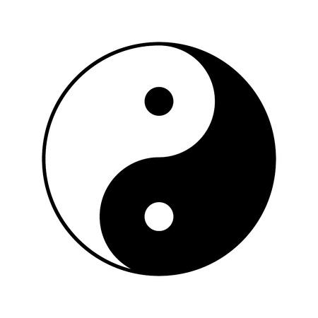 yin yang vector symbol icon design beautiful illustration isolated rh 123rf com Colorful Yin Yang yin yang symbol vector download