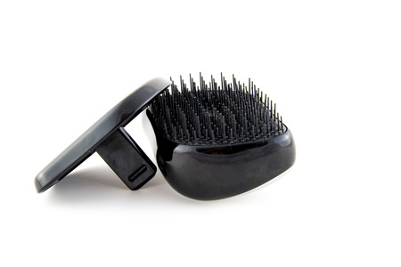 tangle teezer brush isolated photo. Beautiful picture, background, wallpaper Imagens