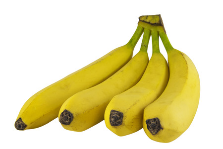 banana skin: Bunch of bananas isolated on white background photo. Beautiful picture, background, wallpaper