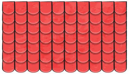 Dachziegel Textur schöne Banner Tapete Design Illustration