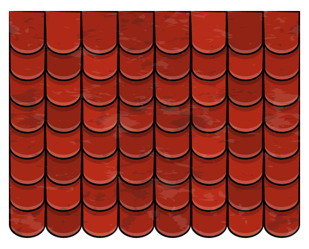 roof tiles texture beautiful banner wallpaper design illustration