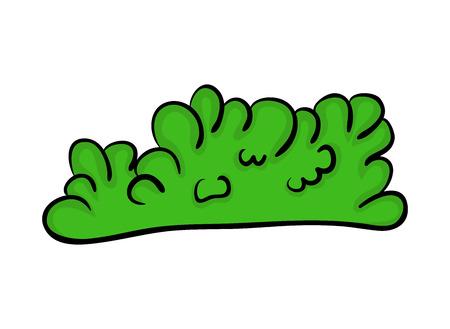 bush cartoon vector symbol icon design. Beautiful illustration isolated on white background Illustration