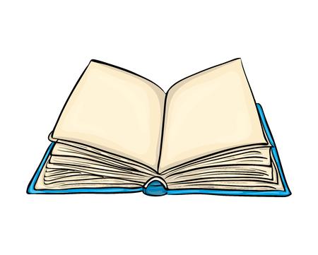 Open book cartoon vector symbol icon design. Beautiful illustration isolated on white background illustration.