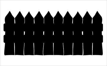 fence cartoon vector symbol icon design. Beautiful illustration isolated on white background Illustration