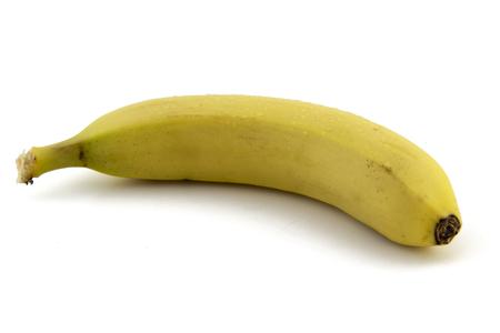 banana skin: banana isolated on white background photo. Beautiful picture, background, wallpaper