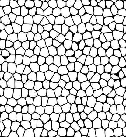 stone pebble texture silhouette mosaic vector background wallpaper Illustration