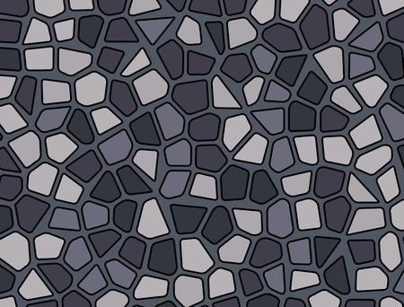 stone pebble texture mosaic vector background wallpaper Stock Vector - 90283258