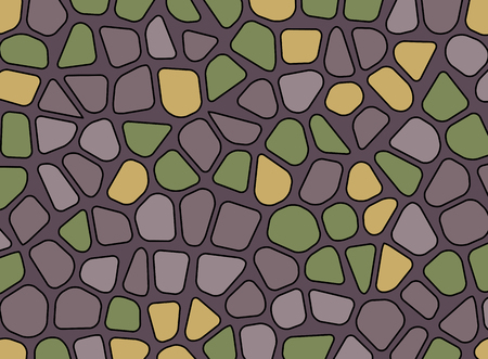 stone pebble texture mosaic vector background wallpaper Stock Vector - 90283306