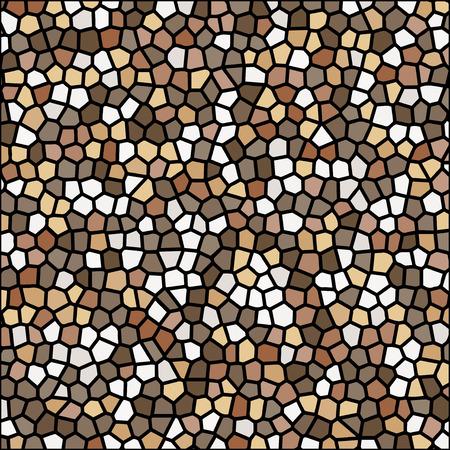 stone pebble texture mosaic vector background wallpaper Stock Vector - 90385470