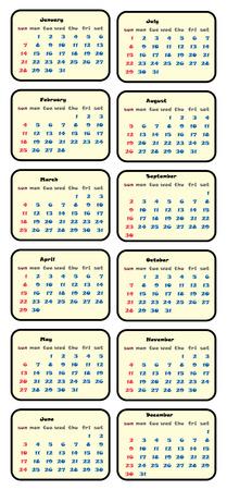 Design De Vetor Simples Calendário 2018 Planner Modelo