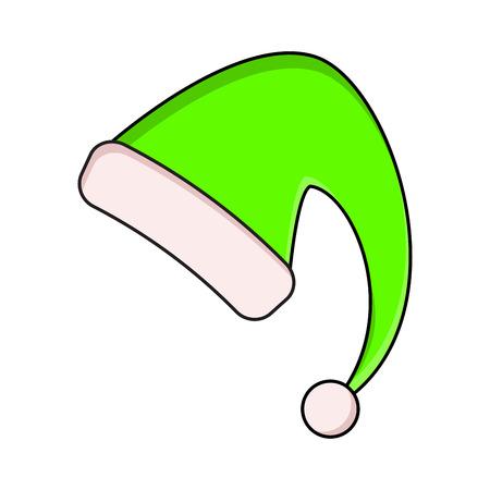 Elf Hut Für Weihnachts-Design Lizenzfrei Nutzbare Vektorgrafiken ...