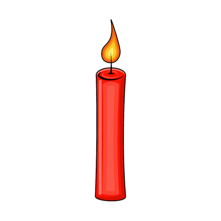 Red candle icon.