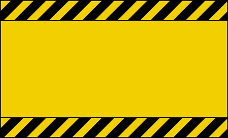 caution tape background wallpaper design with empty place