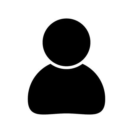 prosty ludzki projekt biznesowy ikona na białym tle