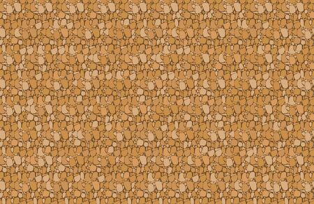 Cork board seamless pattern background, Vector texture wallpaper of pin board for notes.