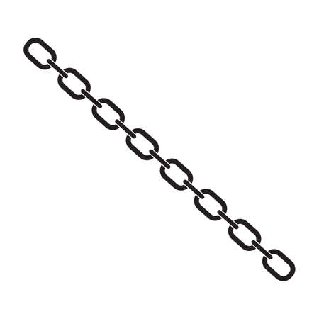 Chain Icon vector, Ilustrace
