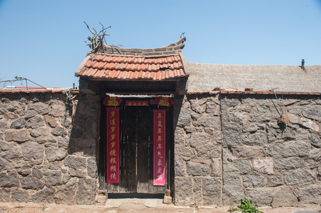 Entrance of a chinese building